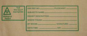 Window bag label