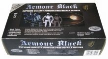 Black Armour Gloves sml