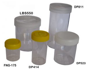 Containers Labeled