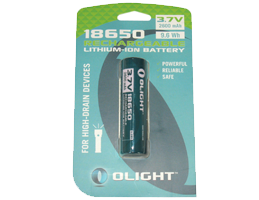 18650 Lithium Ion rechargeable