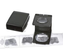 Bausch & Lomb 5x Magnification Linen Tester