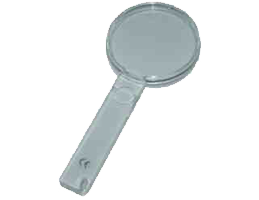 Exchenbach Pocket Magnifiers, with handle (60mm), 2.5x